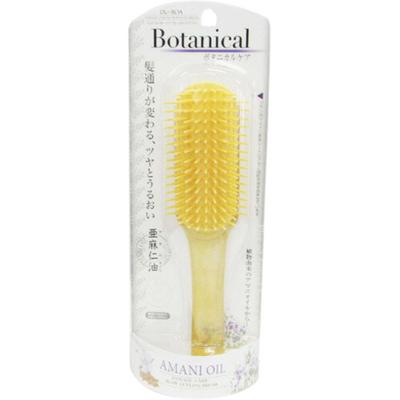 Ikemoto Щетка для укладки волос с маслом льна - Botanical amani oil, 1шт