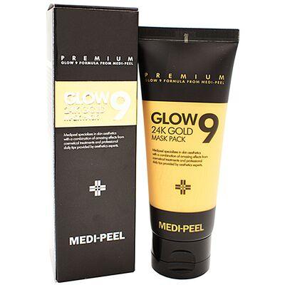 Medi-Peel Маска-пленка золотая - Glow 9 24k gold mask pack, 100мл