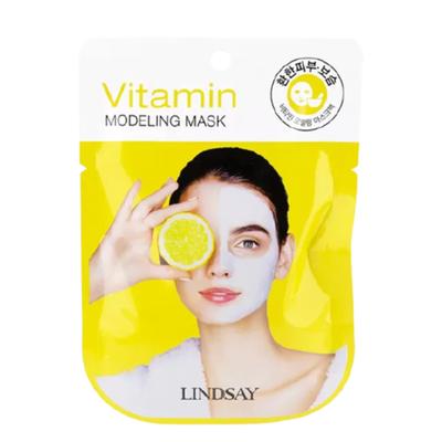 Lindsay Маска альгинатная с витаминами - Vitamin modeling mask, 28г