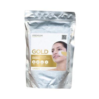 Lindsay Маска альгинатная с коллоидным золотом - Premium gold modeling mask, 1000г