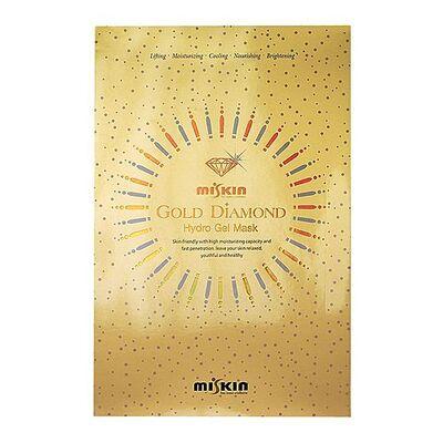 Miskin Маска гидрогелевая брильянтовая с коллоидным золотом - Gold diamond hydro gel mask, 30г