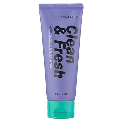 Eunyul Маска плёнка для глубокого увлажнения — Clean fresh intense moisture peel off pack, 100мл