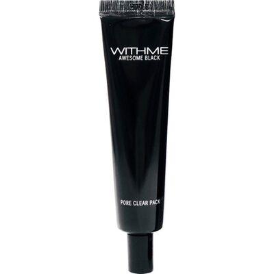 Withme Маска-пленка для лица очищающая - Awesome black pore clear pack, 30г