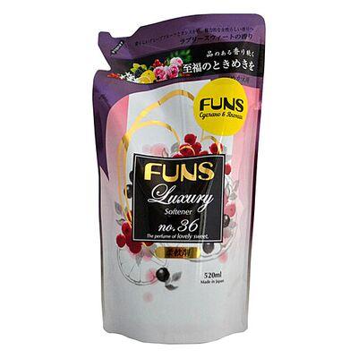 Funs Кондиционер парфюмированный для белья с ароматом грейпфрута и черной смородины, з/б, 520мл