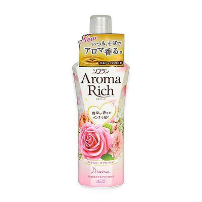 Lion Кондиционер с цветочно-фруктовым ароматом - Soflan aroma rich diana, 520мл