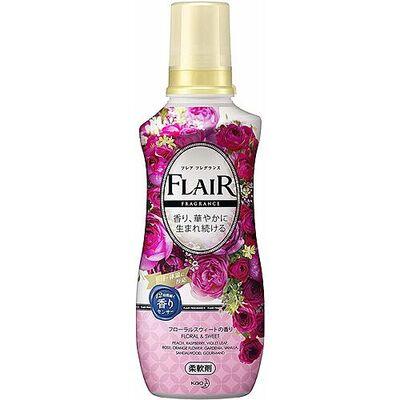 KAO Кондиционер-смягчитель со свежим цветочным ароматом - Flare floral suite, 570мл