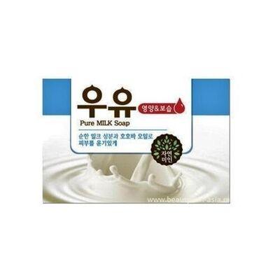 Mukunghwa Мыло молочное - Pure milk soap, 100г