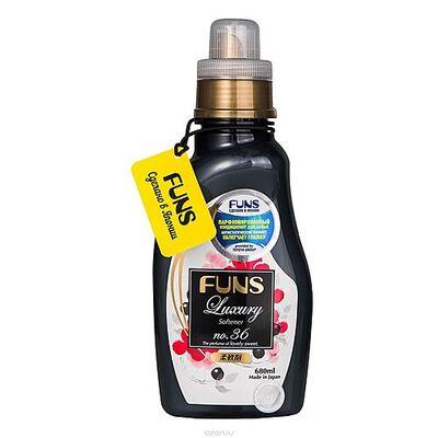 Funs Кондиционер парфюмированный для белья с ароматом грейпфрута и черной смородины, 680мл