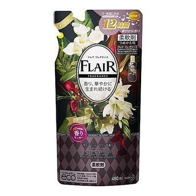 KAO Кондиционер-смягчитель с ароматом цветов и специй з/б - Flaire fragrance sweet spice, 480мл